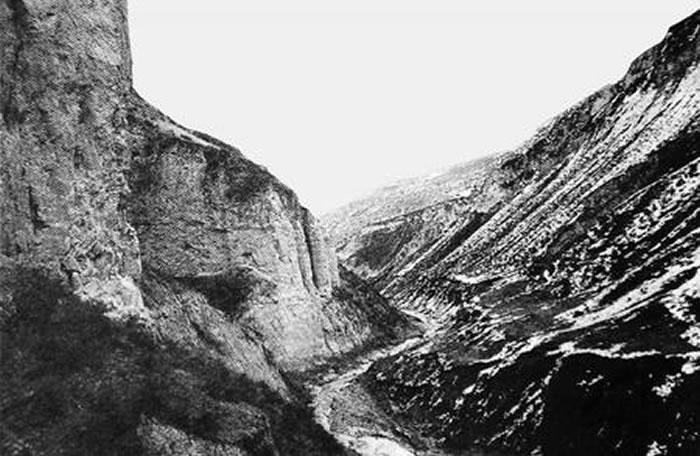 中国第一块旧石器出土地。