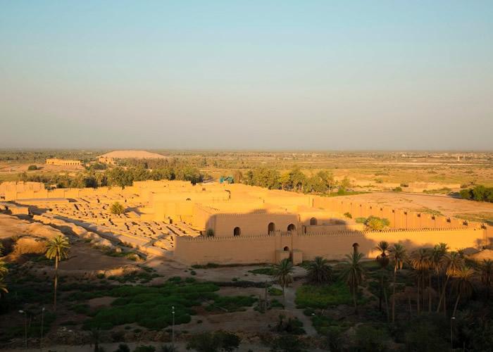 伊拉克政府经过36年努力终于将逾4000年历史的巴比伦古城列入《世界遗产名录》
