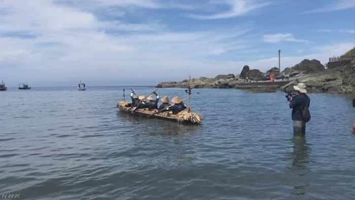 日本国立科学博物馆研究小组再现3万年前人类自台湾岛迁移琉球群岛情景