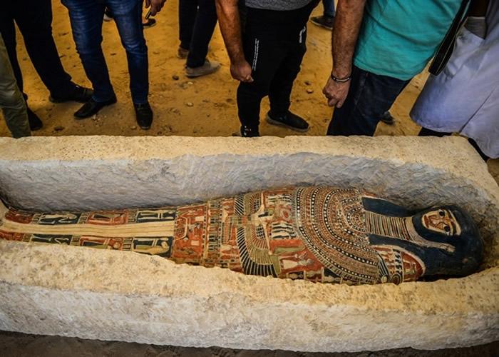埃及4600年历史曲折金字塔逾半世纪首次开放