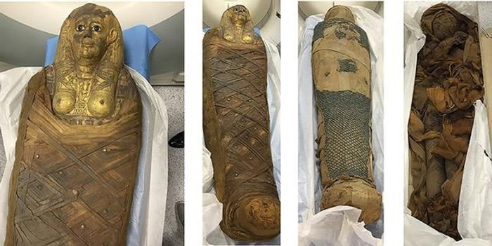 3千年前木乃伊秀发秘密全靠护发香膏