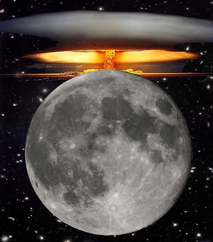 """A119计划:苏联发射世界首颗人造卫星""""激怒了美国"""" 美国要在月球表面引爆核弹"""