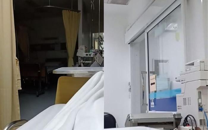 灵异影片曝光!泰国女子误住猛鬼病房晚上听到诡异下床声 玻璃门自己打开