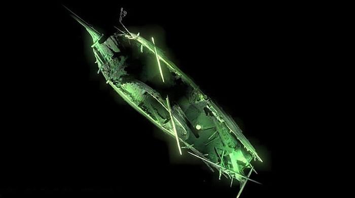 瑞典49公里外波罗的海海底发现保持得非常良好的500年前沉船遗骸
