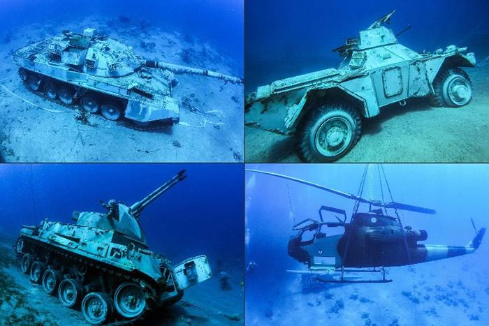 海底军事博物馆是亚喀巴新增的旅游景点。