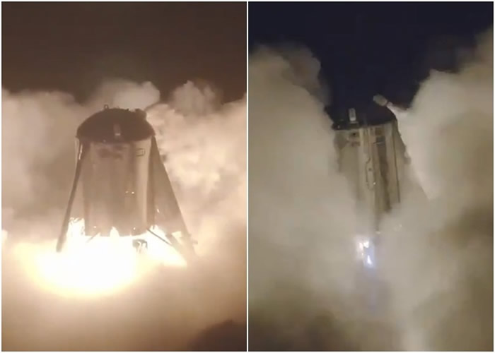 星际跳跃者试飞成功。