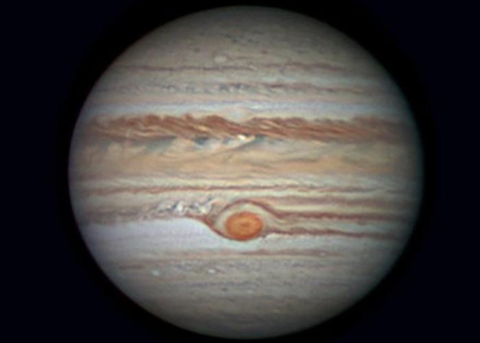 上月的出现木星冲日现象。