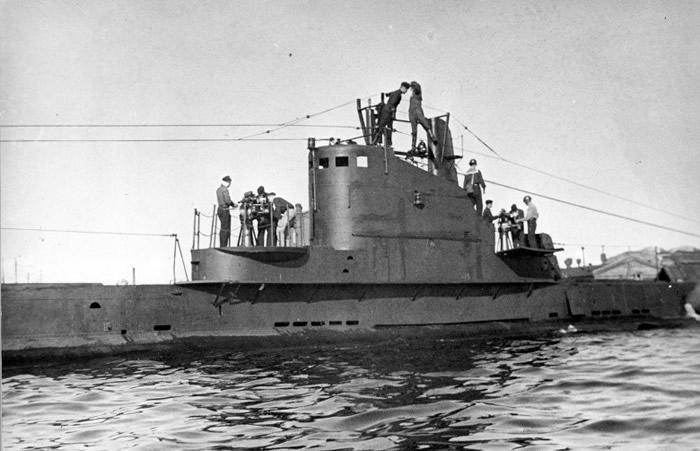 """ShCh-308 Syomga""为前苏联的海军潜艇。"
