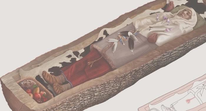 瑞士考古学家发现铁器时代晚期凯尔特人贵妇墓地