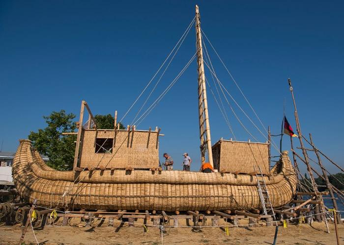 探险队拟用芦苇船远航爱琴海 证古埃及航海技术