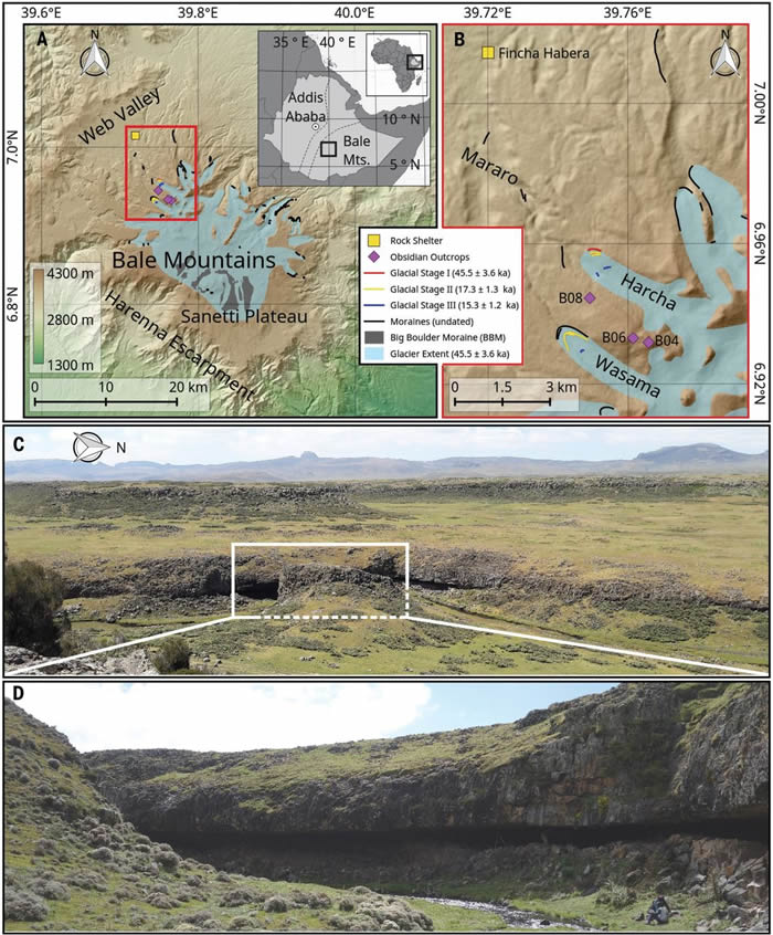 埃塞俄比亚高地沉积物中发现迄今为止最早的人类在高海拔地区的史前生活证据
