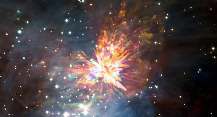 哈勃太空空间望远镜获得猎户座行星状星云最新照片