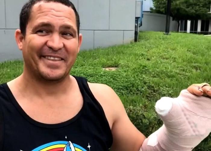 美国佛罗里达州迈阿密潜水员遭遭鲨鱼咬伤 获邻船护士救助