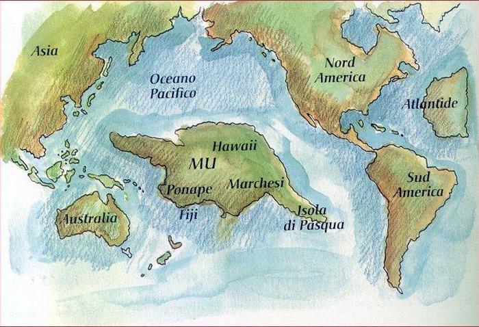 遗失的姆大陆之谜:太平洋史前档案