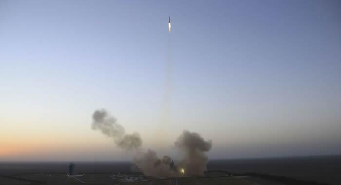 捷龙一号运载火箭发射升空成功将3颗卫星送入预定轨道