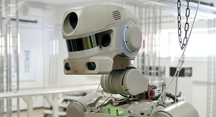 """俄罗斯太空机器人""""费奥多尔""""将于9月7日凌晨搭载联盟MS-14飞船从国际空间站返回地球"""