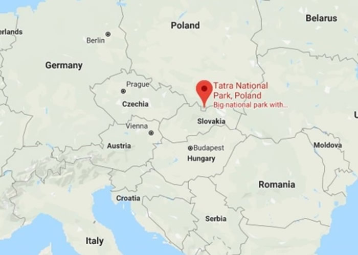 波兰两登山客被困最长最深洞穴 通道狭窄难营救