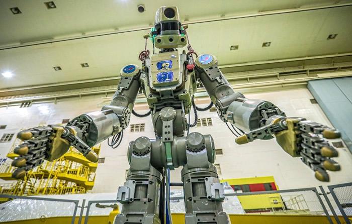 """俄罗斯将人形机器人""""Fedor""""发射运往国际太空站"""