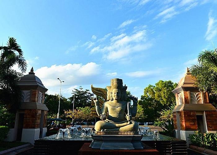 吴哥文明曾于东南亚一带盛极一时。