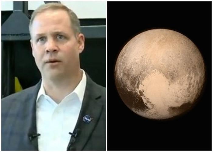 美国太空总署(NASA)署长布里登斯廷坚称冥王星是一颗行星 而非矮行星