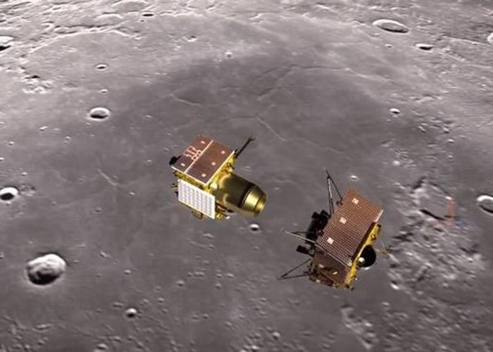 """登月失败:印度""""月球2号""""探月卫星登陆器""""维克拉姆号""""在距离月面2.1公里时失联"""