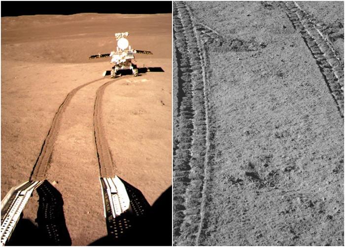 中国玉兔二号月球车进入第9个月夜休眠 累计行驶284.661米