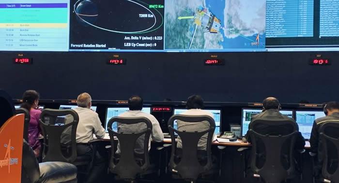 """印度学者:""""月球2号""""登陆器""""维克拉姆""""号在月球表面硬着陆 仍处于失联状态"""