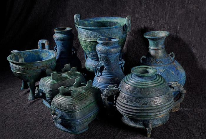 """流失日本多年的国家一级文物西周""""曾伯克父""""青铜组器被成功追回中国"""