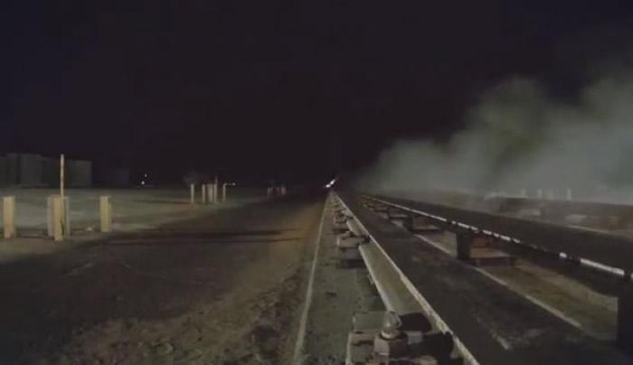 美国空军发布震撼的8.6倍马赫超音速火箭影片 速度快到肉眼看不见