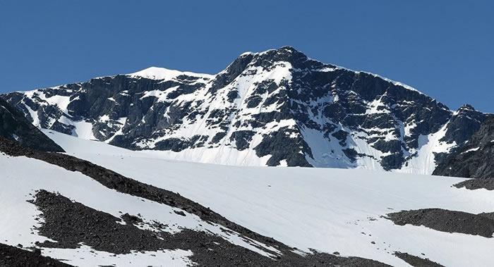 """冰川融化!凯布讷山(Kebnekaise)南峰失去""""瑞典最高峰""""称号"""
