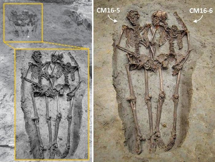 """意大利考古发现的2具牵手骨骸""""摩德纳的恋人""""原来都是男性"""