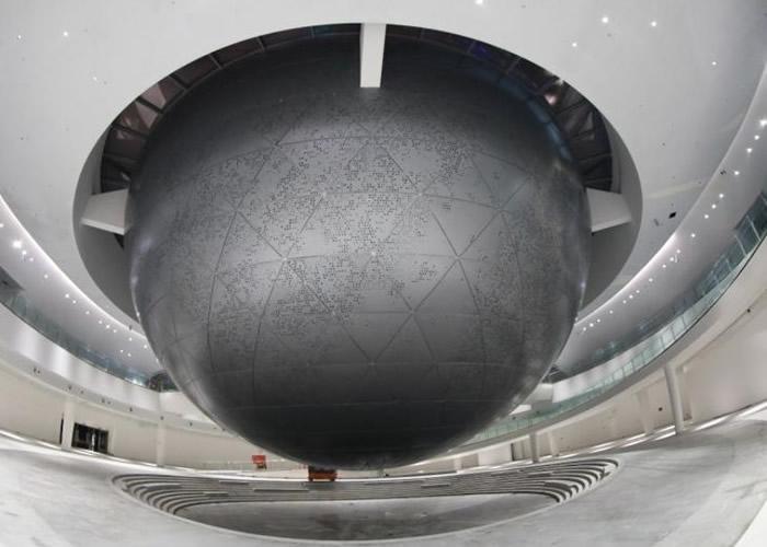 全球最大天文馆将于上海临港新区落成 建筑面积达3.8万平方米