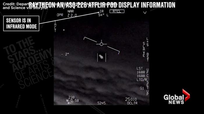美国海军已证实飞行员拍到的UFO视频是真实的
