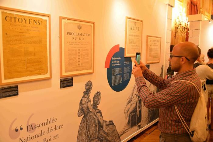 法国国民议会于波旁宫举办法国大革命周年纪念展。