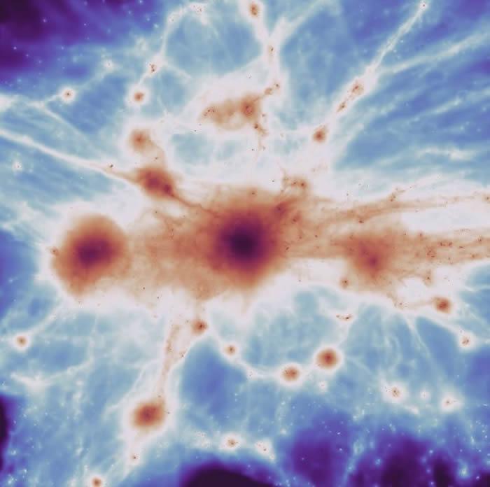 天文学家窥探宇宙中最大、最暗及最难以捉摸的特征之一:宇宙网银河系间细丝