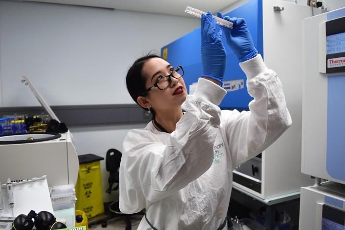 在 Diana Quan 的带领下,他们在实验中展开了一番测试。(图自:The Centenary Institute)