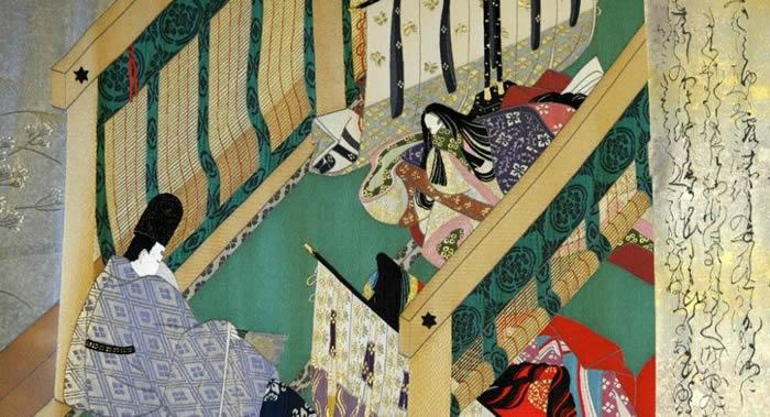 日本发现被公认为世界上最古老长篇小说《源氏物语》的第5章手稿