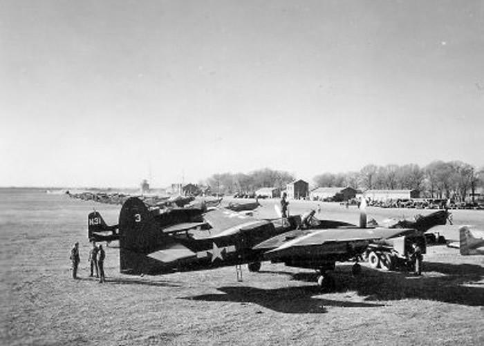 有美国空军曾降落停泊南苑机场。