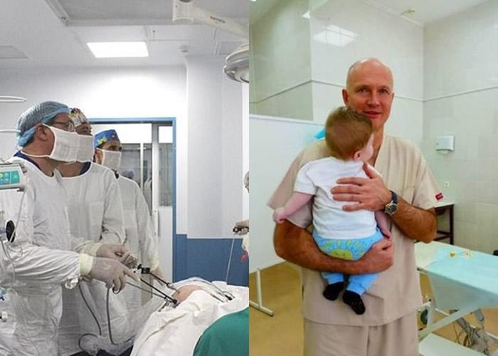 俄罗斯男婴出生拥有3条腿、两个生殖器和没有肛门 顽强历多次手术后获新生
