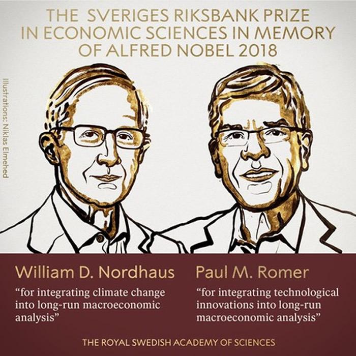 去年诺贝尔经济学奖得主