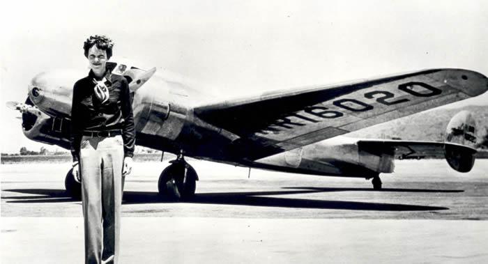 美国科学家对遗骨进行DNA分析确定1937年空难中神秘失踪的女飞行员阿梅莉亚•埃尔哈特
