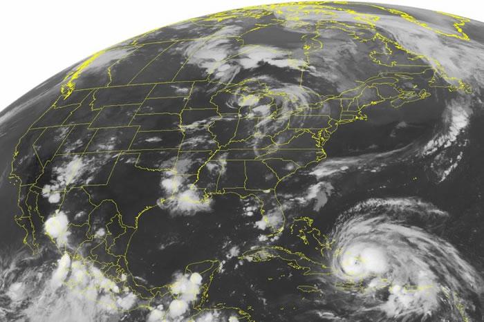 """《地球物理研究快报》天灾""""地震""""与""""飓风""""有了新的合成物:Stormquakes"""