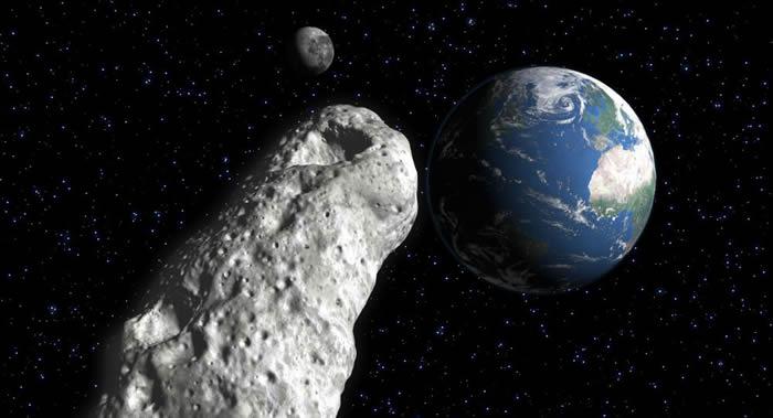 直径1公里小行星162082(1998 HL1)正向地球飞来