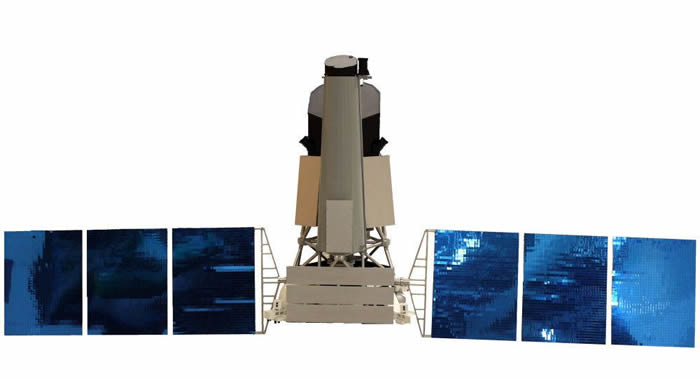"""俄德""""光谱-RG""""天体物理太空天文台抵达距离地球150万公里的日地拉格朗日L2工作点"""