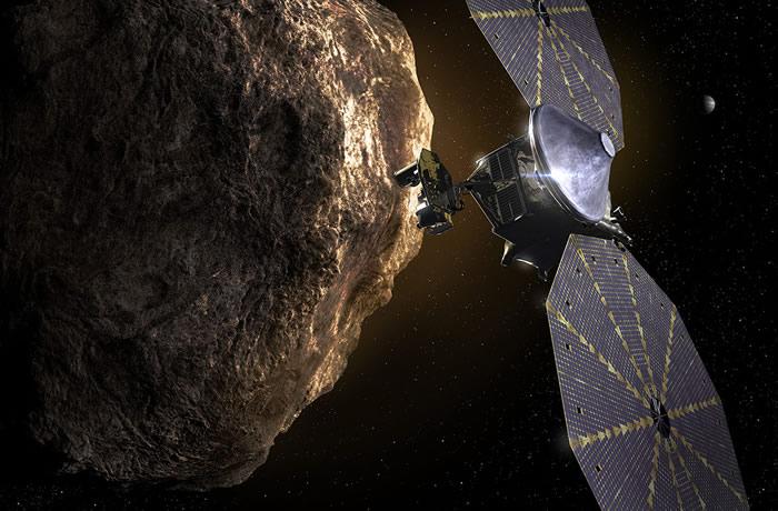 """NASA批准建造""""露西""""号星际站项目 详细研究木星的""""特洛伊""""小行星群"""