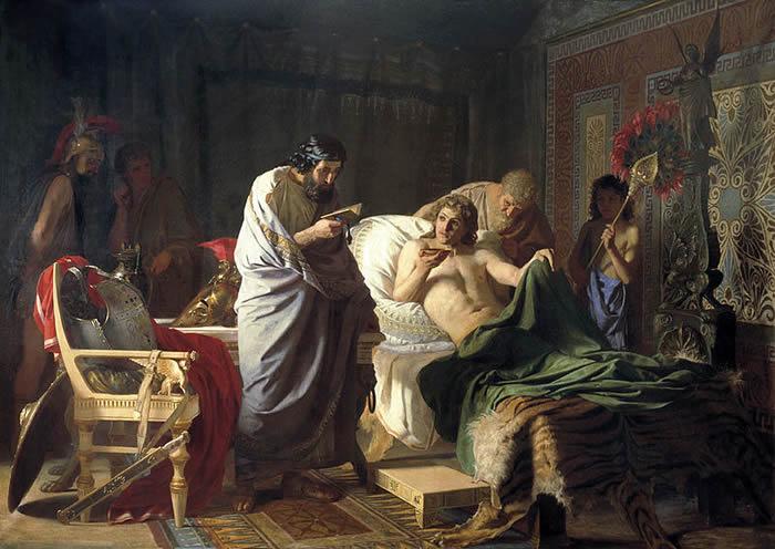希腊亚里士多德大学科学家:亚历山大大帝死于胰腺疾病——急性坏死性胰腺炎