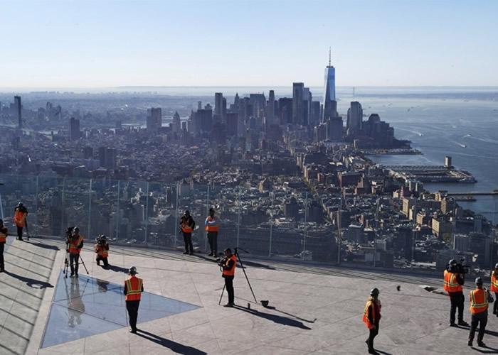 西半球最高 美国纽约摩天大厦哈德逊广场100层户外平台明年启用