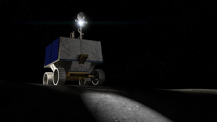 美国国家航空航天局将于2022年12月向月球发射一辆名为VIPER的月球漫游车