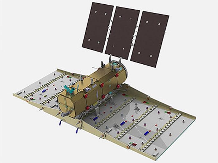 """2020年3月,美国计划发射""""猎鹰""""9号火箭将阿根廷地球遥感雷达卫星SAOCOM 1B送入极地轨道。"""