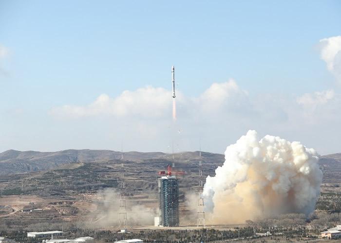 中国高分七号卫星成功升空 能在太空拍高精度立体影像